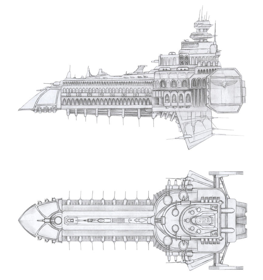 Cathedral ship by asylumseaker