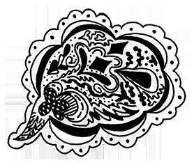 pen pattern by francesdotcom