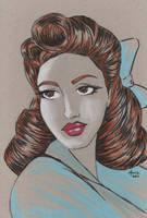 50's Style Belle by ToddMoniz