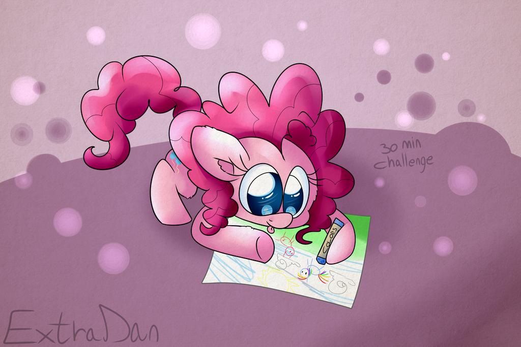 Pinkiedraw. by Extra-Dan