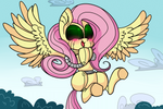 The moment when Flutterbot was happy.