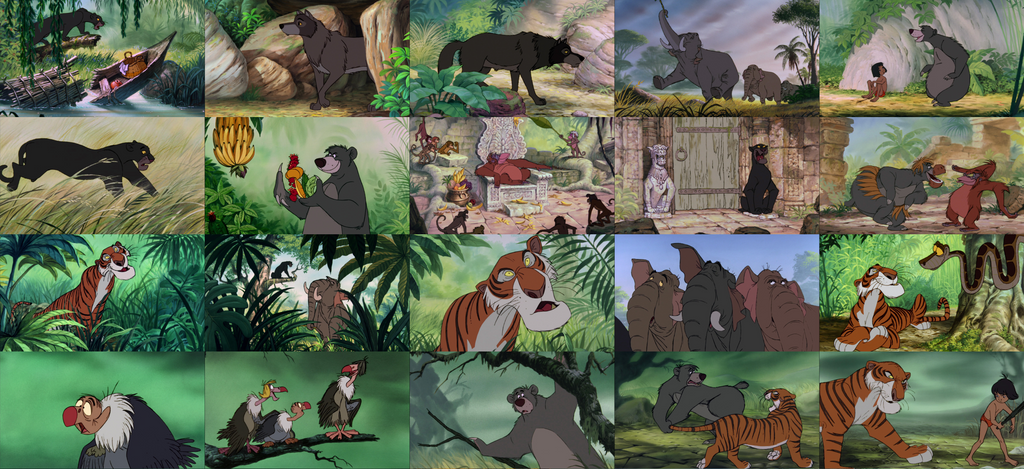 the jungle book wallpapergojirafan1994 on deviantart