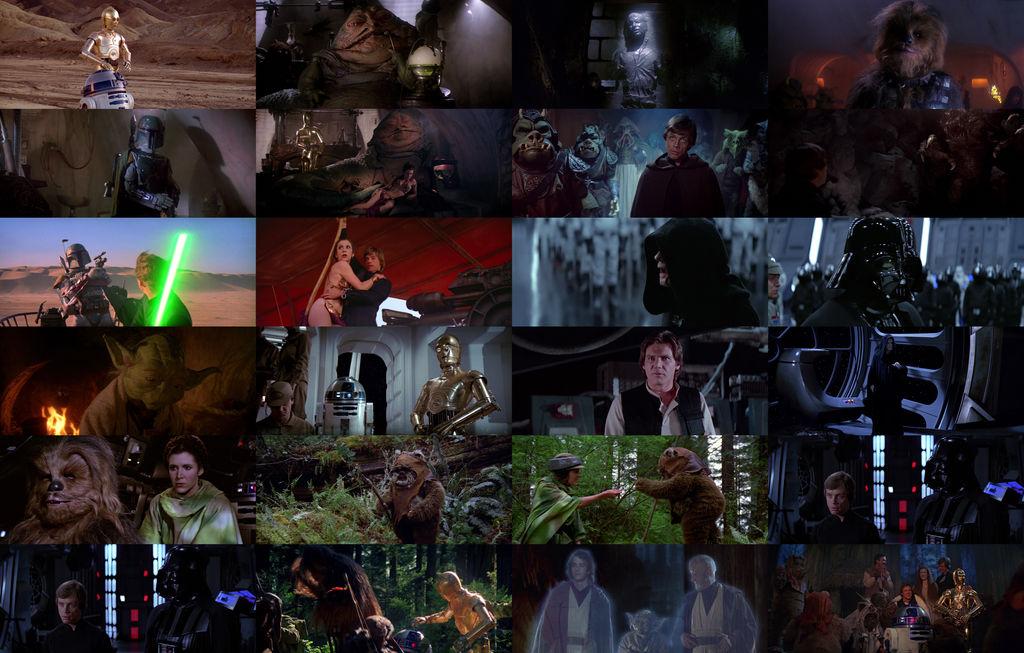 Star Wars Return Of The Jedi Wallpaper By Gojirafan1994 On