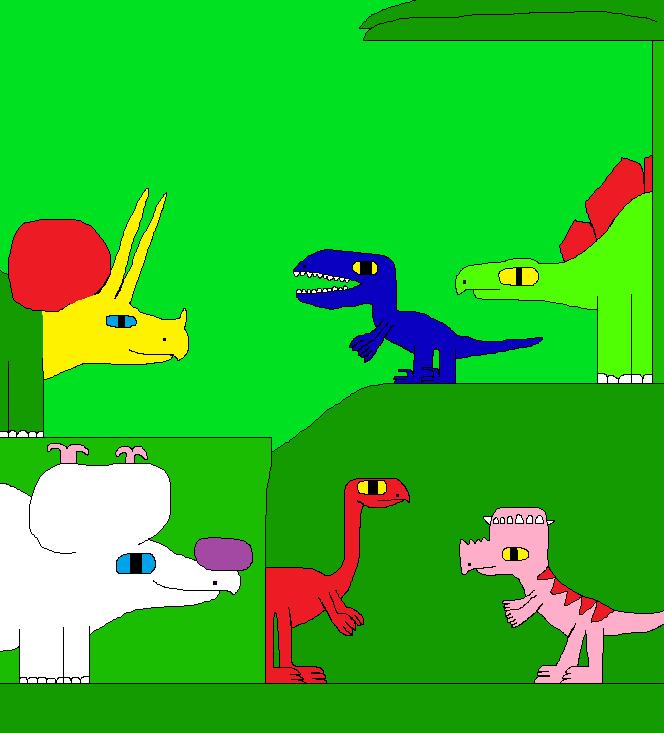 The New Dinosaur Adventures 1273 by Gojirafan1994