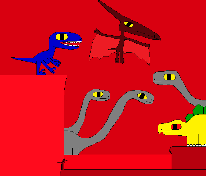 Friends for a Wuerhosaurus by Gojirafan1994