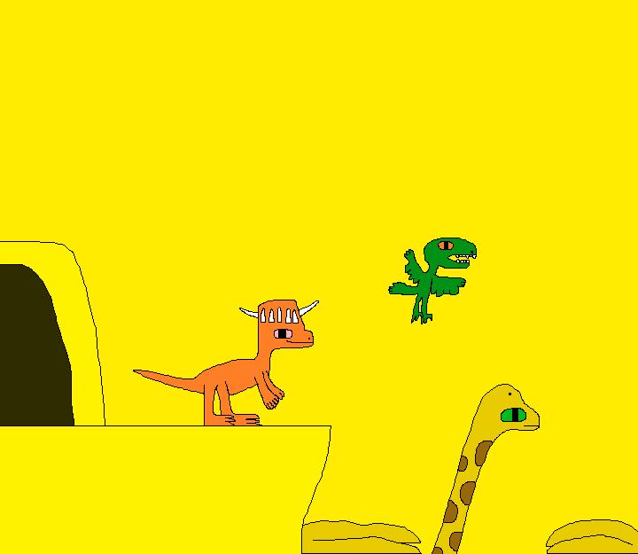 The New Dinosaur Adventures 1814 by Gojirafan1994