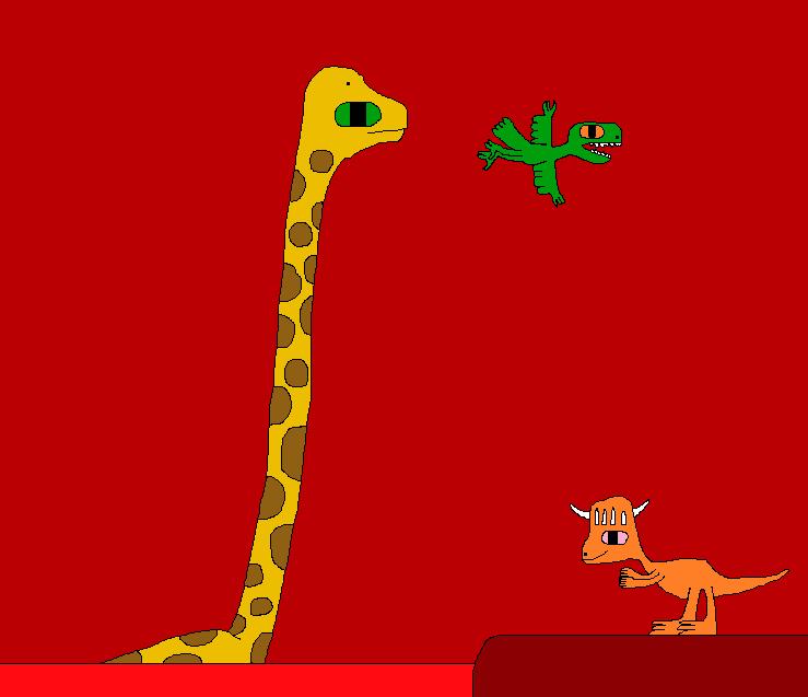 The New Dinosaur Adventures 1815 by Gojirafan1994