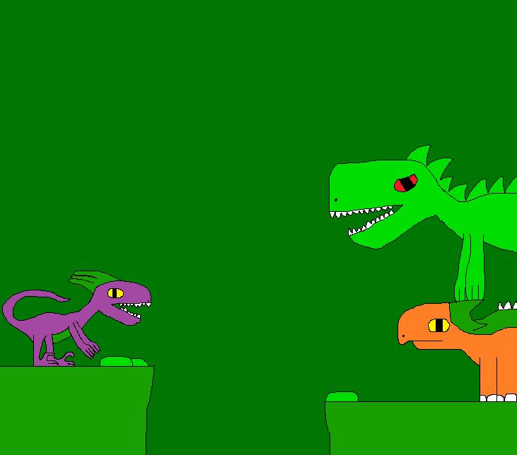 The New Dinosaur Adventures 1816 by Gojirafan1994