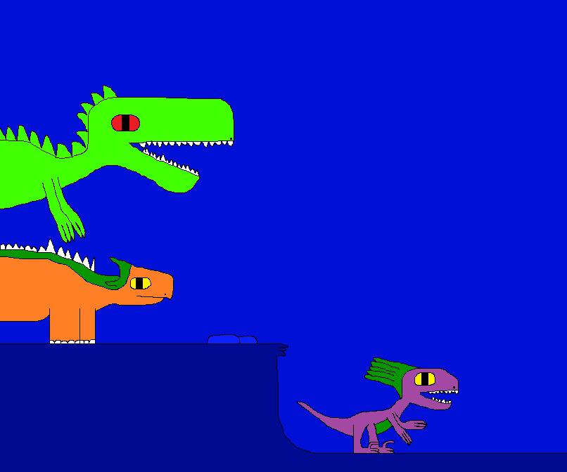 The New Dinosaur Adventures 1817 by Gojirafan1994