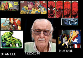 Marvel Characters Mourn Stan Lee by Gojirafan1994