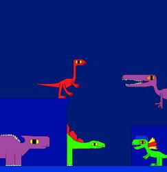 Stegosaurus and Ankylosaurus 11 by Gojirafan1994