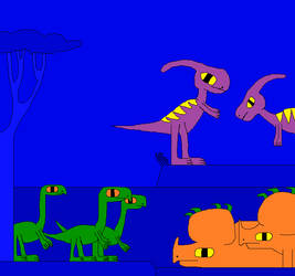 Sinoceratops: Arrival of the Horned Ones by Gojirafan1994