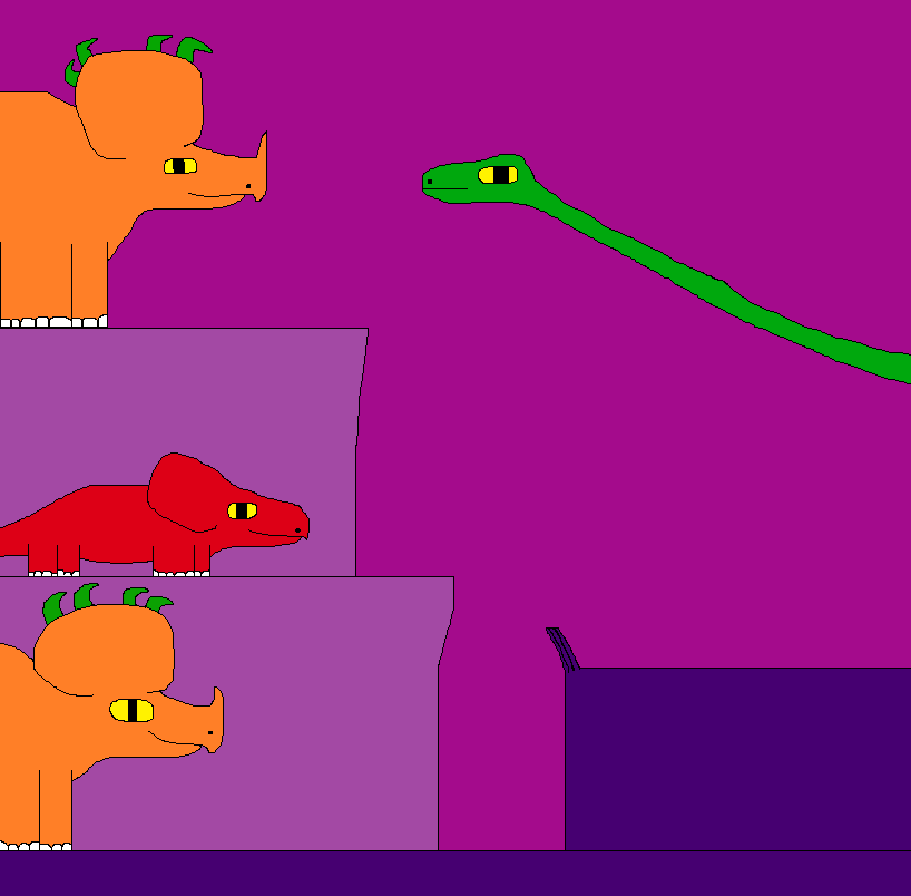 Sinoceratops and Protoceratops 2 by Gojirafan1994