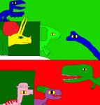 Paradise of Dinosaurs Christmas 679