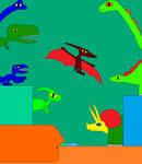 Argentinosaurus and Tyrannosaurus rex 7