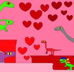 Paradise of Dinosaurs Valentine's Day 9