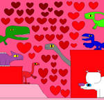 Paradise of Dinosaurs Valentine's Day 80