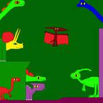 Triceratops and Stegosaurus 9