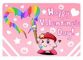 Valentine's Gift from Kirby! by SenchoDoodle
