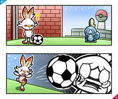 Soccer to the Sobble by MarioK9