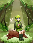 OoT - Saria in the Woods
