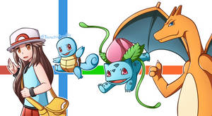 Pokemon Trainer Leaf