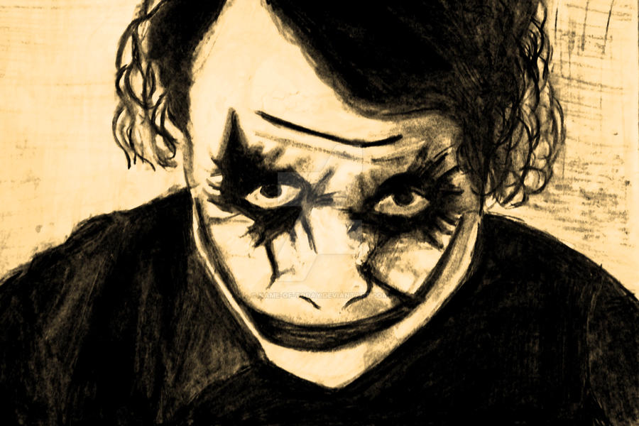 Why so serious ? by Name-of-today