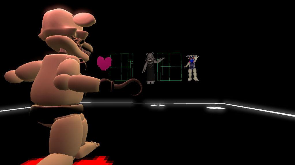 Asriel Fight by BonnieBunny5000 on DeviantArt