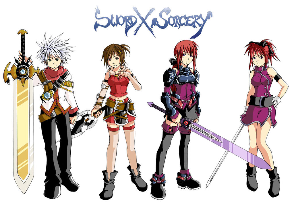 Anime Characters Using Sword : Image gallery sword x