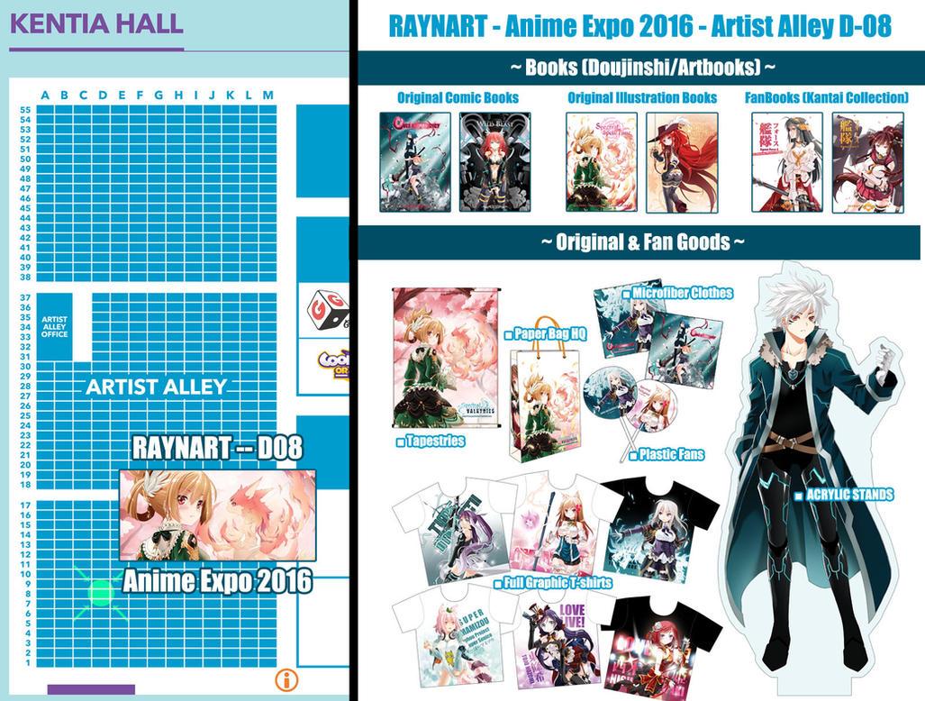 Raynart At Anime Expo