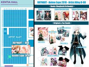 Raynart at Anime Expo - Artist Alley D-08