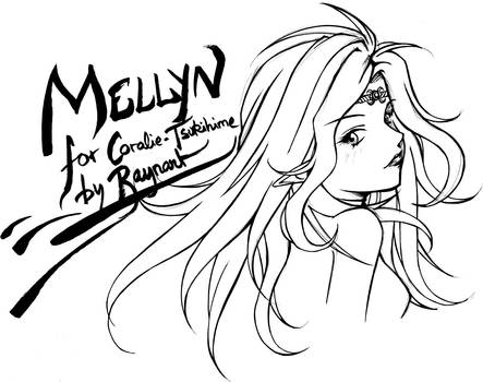 Sketch for Coralie-Tsukihime