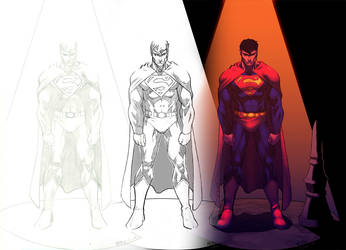 Superman by Atkins by Ross-A-Campbell