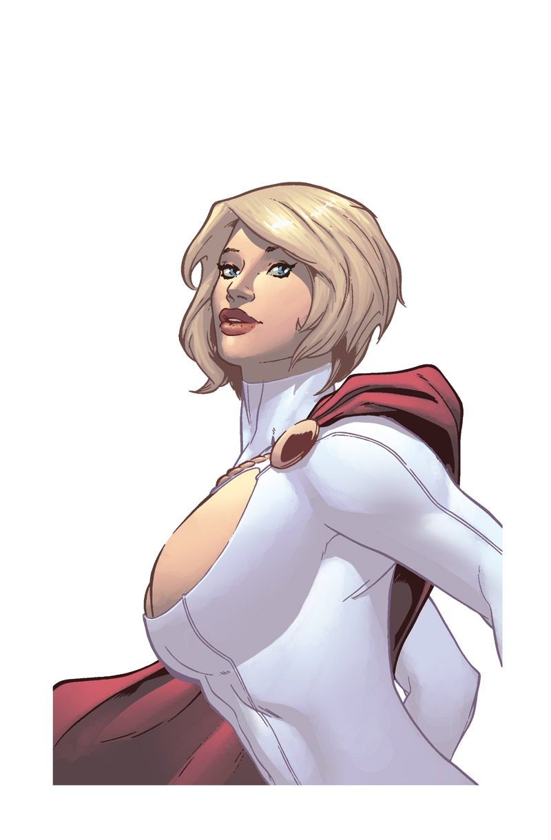 PowerGirl by Petrigno QP by Ross-A-Campbell