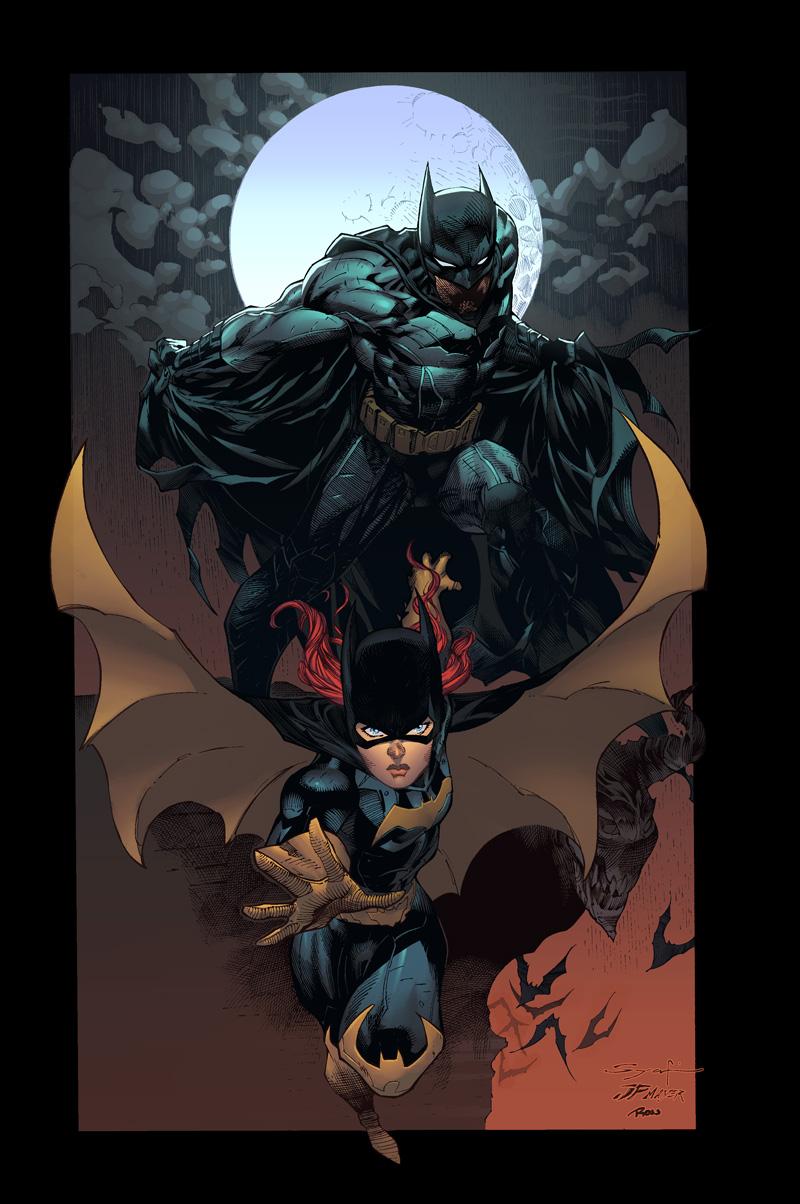 Comics Forever, Batman & Batgirl // artwork by Ardian Syaf ...