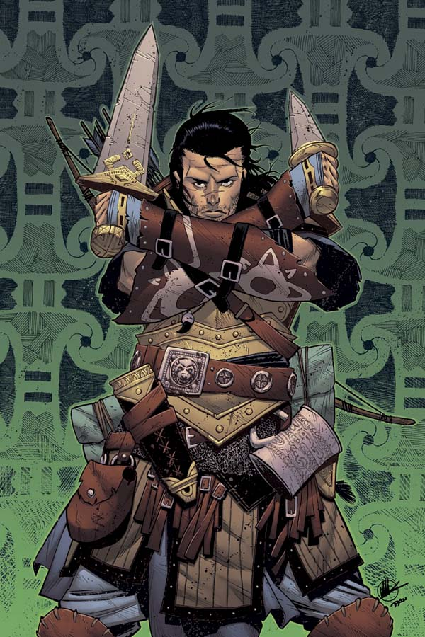 PathFinder Scalera cover issue 2 by Ross-A-Campbell