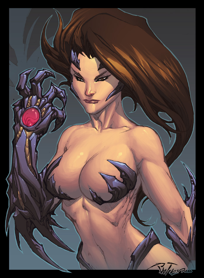 Witchblade sketch by Pant by Ross-A-Campbell