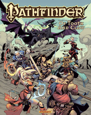 Pathfinder softcover Volume 2 colors by Ross-A-Campbell