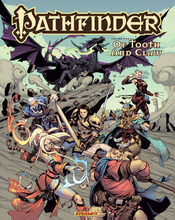 Pathfinder softcover Volume 2 colors