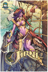 Jirni Volume 2 Cover by Ross-A-Campbell