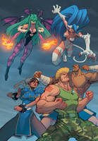 Street Fighter vs Darkstalkers with Mike Bowden by Ross-A-Campbell