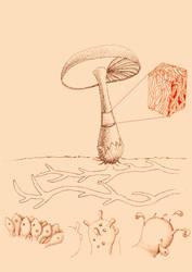 Mushroom by Annamalie