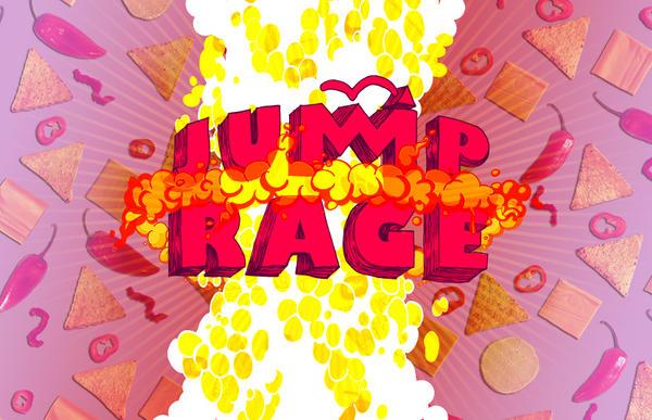 Game Logo Jump Rage by Annamalie