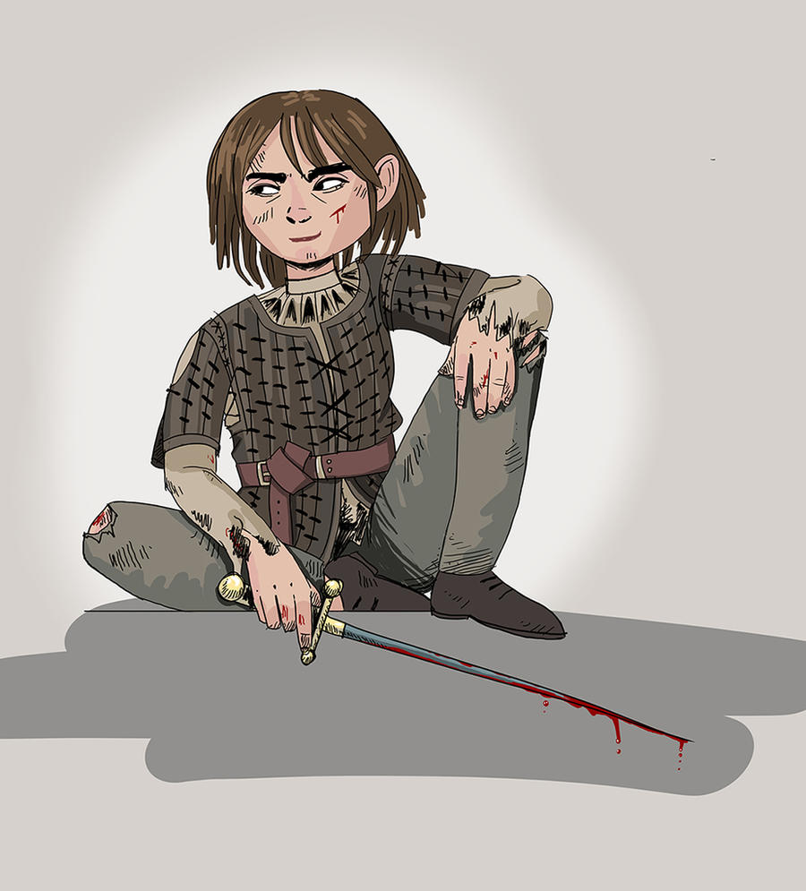 Arya Stark by Annamalie