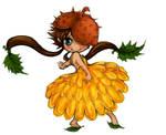autumn chibi fairy