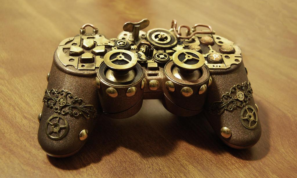 Steampunk PS Controller