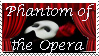 Phantom of the Opera Stamp by Natures-Rose
