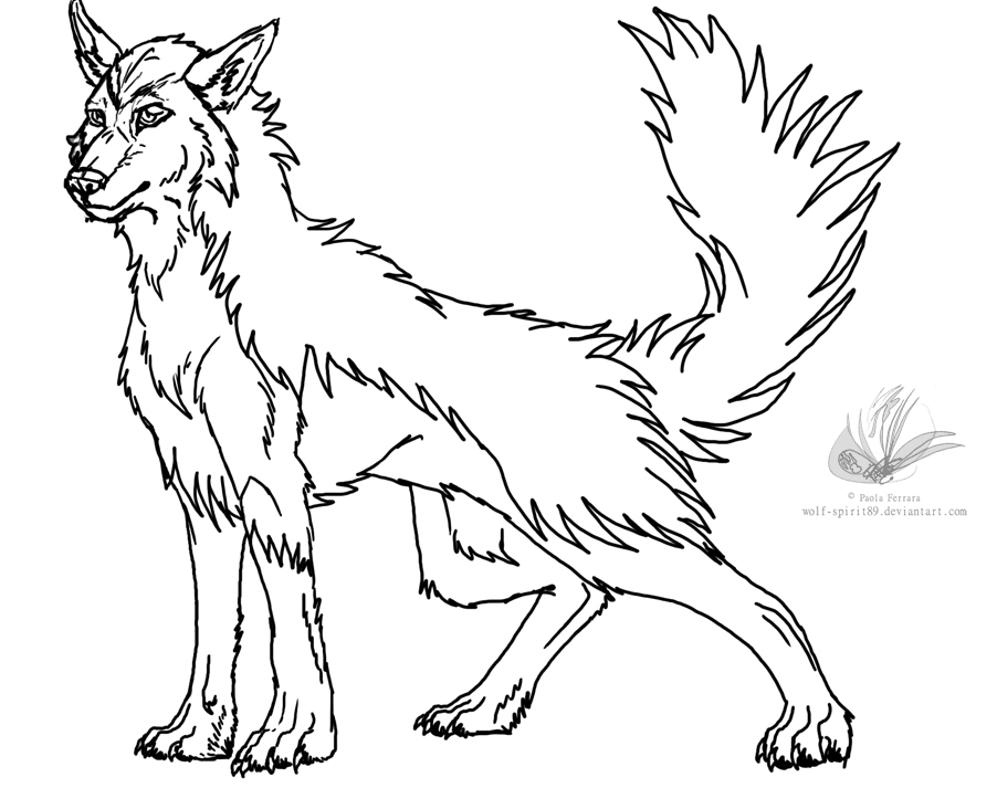 mightyena coloring pages-#16