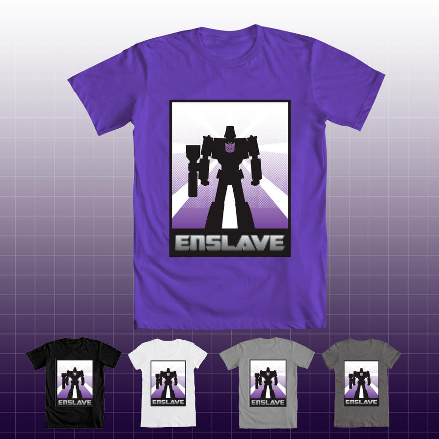 Transformers tshirt - Megatron by v-for-vincent