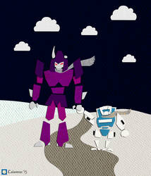 Tailgate and Cyclonus-card by v-for-vincent